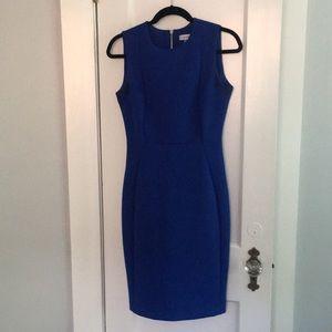 Blue Calvin Klein sheath dress size 4